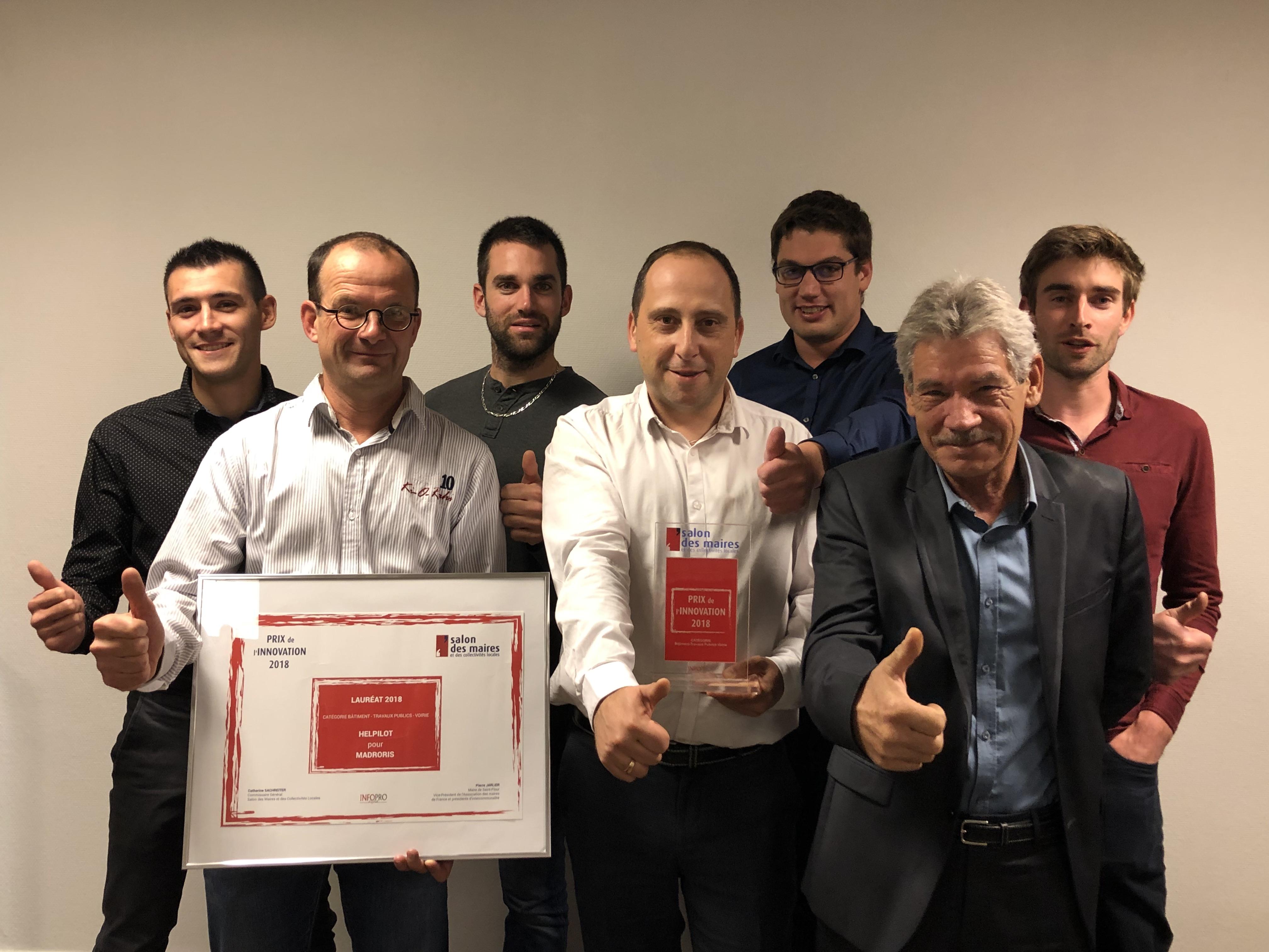Rodez : une jeune entreprise couronnée au salon des maires